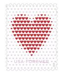 Love Is in the Mail as U.S. Postal Service Releases Made of Hearts Stamp