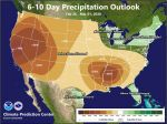 Mariposa, Oakhurst and Yosemite Valley Forecast to Have Above Normal Temperatures and Below Normal Precipitation Through the End of February 2020