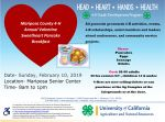 Mariposa County 4-H to Host Annual Sweetheart Pancake Breakfast on Sunday, February 10, 2019