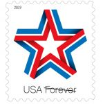 U.S. Postal Service Issues New Patriotic Stamp