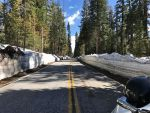Glacier Point Road in Yosemite National Park Opened on Friday Afternoon, Will Close on Saturday Evening Due to Projected Inclement Weather
