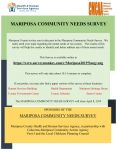 Calaveras-Mariposa Community Action Agency (CMCAA) Asks for Your Input on Community Needs Survey