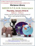 Upcoming Mariposa Library Free Programs Invite Learning and Exploration