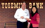 Mariposa Academic Boosters Club Receives Generous Donation from Yosemite Bank
