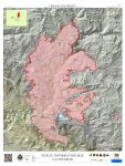 Sierra National Forest Creek Fire Public Information Map for Monday, September 21, 2020 - Shows Fire Perimeter and Containment